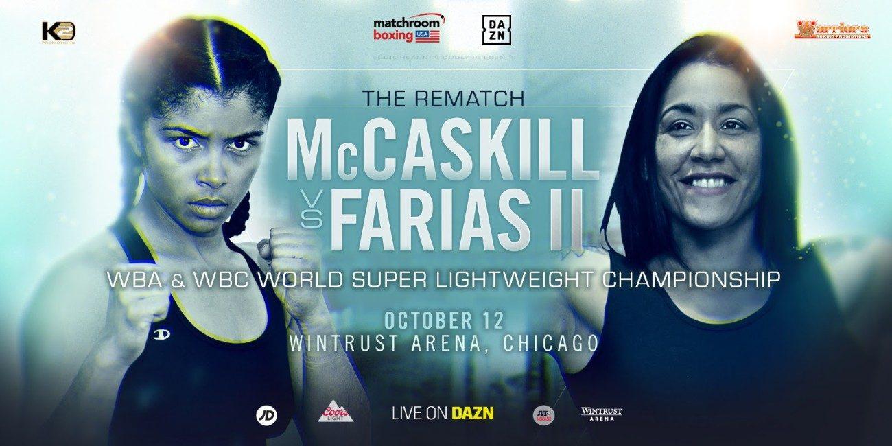 McCaskill vs Farias Rematch