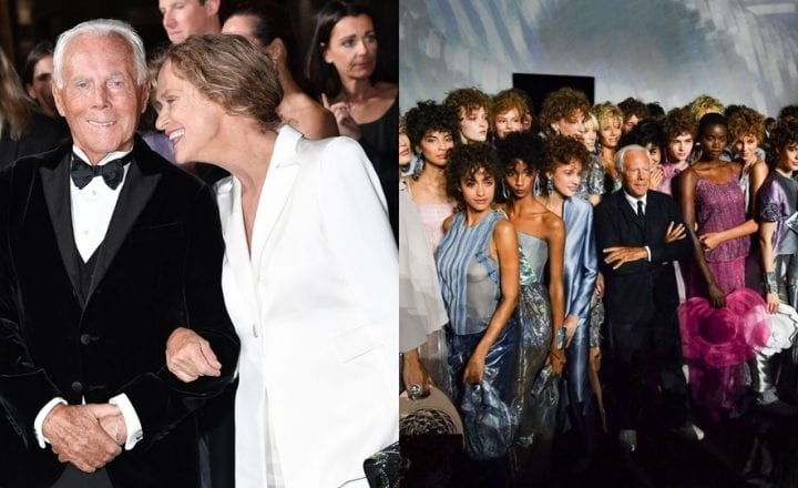 Giorgio Armani & The Fashion Awards 2019