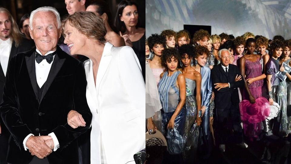 Giorgio Armani & The Fashion Awards 2019