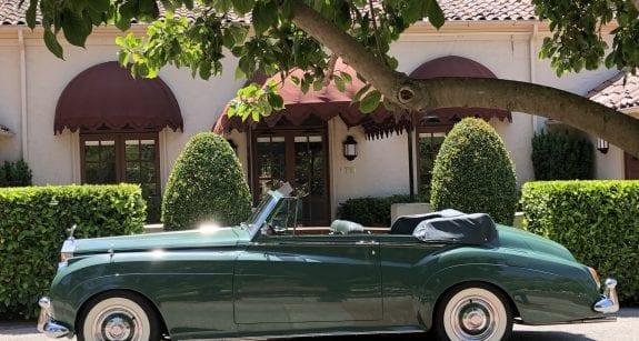 Elizabeth Taylor Rolls Royce