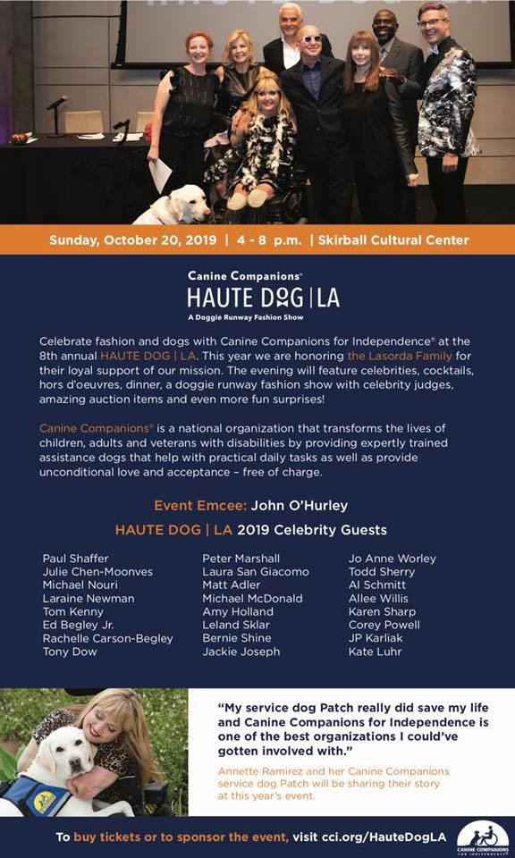 Haute Dog LA Canine Companions For Independence