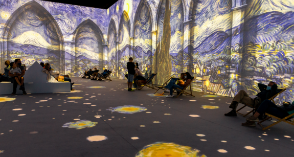 Immersive Van Gogh Exhibit NYC