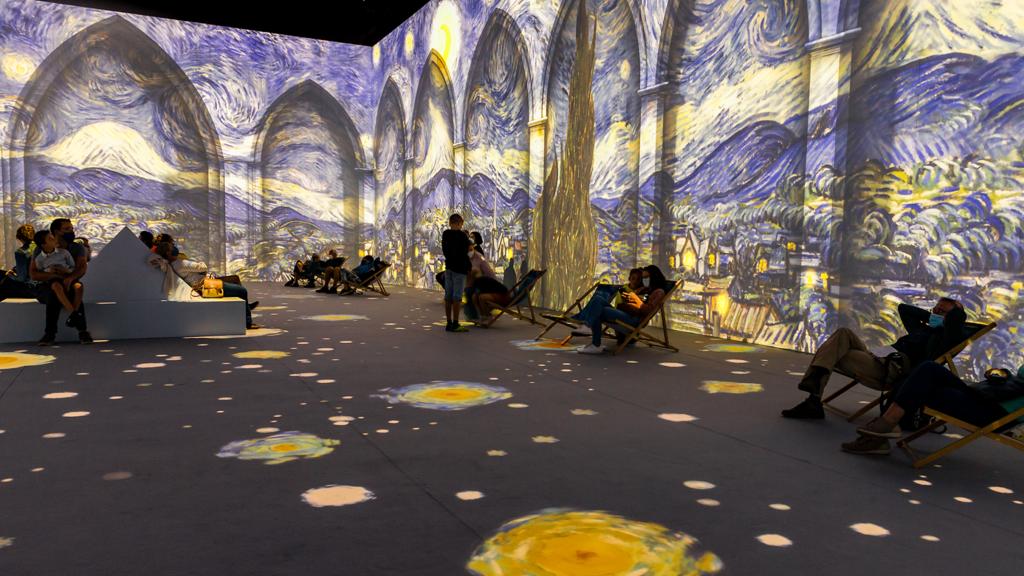 Immersive Van Gogh Exhibit NYC